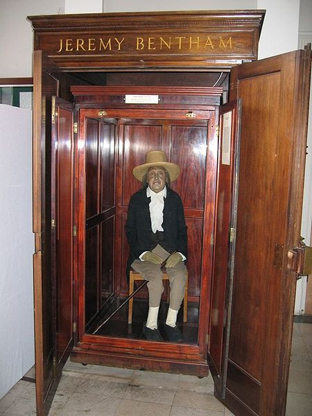 Jeremy Bentham today